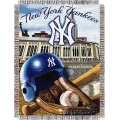 "New York Yankees MLB ""Home Field Advantage"" 48"" x 60"" Tapestry Throw"