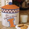 Illinois Illini NCAA College Gameday Ceramic Cookie Jar