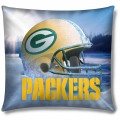 "Green Bay Packers NFL 18"" Photo-Real Pillow"