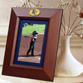 "Kansas City Royals MLB 10"" x 8"" Brown Vertical Picture Frame"
