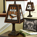 Baltimore Orioles MLB Art Glass Table Lamp