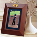 "Atlanta Braves MLB 10"" x 8"" Brown Vertical Picture Frame"