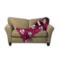 Arizona Cardinals NFL Juvenile Fleece Comfy Throw