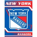 "New York Rangers NHL ""Tie Dye"" 60"" x 80"" Super Plush Throw"