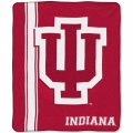 "Indiana Hoosiers College ""Jersey"" 50"" x 60"" Raschel Throw"