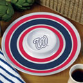 "Washington Nationals MLB 14"" Round Melamine Chip and Dip Bowl"