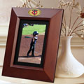 "Minnesota Twins MLB 10"" x 8"" Brown Vertical Picture Frame"