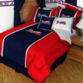 Atlanta Braves MLB Microsuede Comforter / Sheet Set