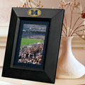 "Michigan Wolverines NCAA College 10"" x 8"" Black Vertical Picture Frame"
