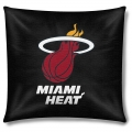"Miami Heat NBA 18"" x 18"" Cotton Duck Toss Pillow"