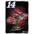 "Tony Stewart #14 NASCAR ""Tie Dye"" 60"" x 80"" Super Plush Throw"