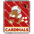 "Arizona Cardinals NFL Baby 36"" x 46"" Triple Woven Jacquard Throw"