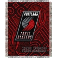 "Portland Trail Blazers NBA 48"" x 60"" Triple Woven Jacquard Throw"