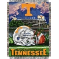 "Tennessee Volunteers NCAA College ""Home Field Advantage"" 48""x 60"" Tapestry Throw"