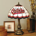 Baltimore Orioles MLB Stained Glass Tiffany Table Lamp