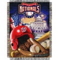 "Washington Nationals MLB ""Home Field Advantage"" 48"" x 60"" Tapestry Throw"