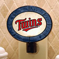 Minnesota Twins MLB Art Glass Nightlight