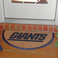 New York Giants NFL Half Moon Outdoor Door Mat