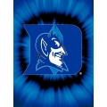 "Duke Blue Devils College ""Tie Dye"" 60"" x 80"" Super Plush Throw"