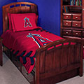 Los Angeles Angels MLB Twin Comforter Set 63