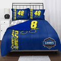 "Jimmie Johnson 48 NASCAR Twin Comforter Set with 2 Shams 63"" x 86"""