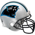 Carolina Panthers Helmet Fathead NFL Wall Graphic