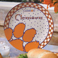 "Clemson Tigers NCAA College 11"" Gameday Ceramic Plate"