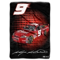 "Kasey Kahne #9 NASCAR ""Tie Dye"" 60"" x 80"" Super Plush Throw"