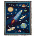 Olive Kids Out Of This World Woven Throw