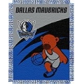 "Dallas Mavericks NBA Baby 36"" x 46"" Triple Woven Jacquard Throw"