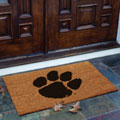 Clemson Tigers NCAA College Rectangular Outdoor Flocked Door Mat
