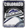 "Colorado Rockies MLB 48""x 60"" Triple Woven Jacquard Throw"
