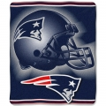 "New England Patriots NFL ""Tonal"" 50"" x 60"" Super Plush Throw"