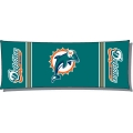 "Miami Dolphins NFL 19"" x 54"" Body Pillow"