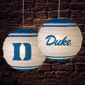 "Duke Blue Devils NCAA College 18"" Rice Paper Lamp"