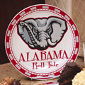 "Alabama Crimson Tide NCAA College 11"" Ceramic Plate"
