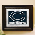 Chicago Bears NFL Laser Cut Framed Logo Wall Art