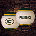 "Green Bay Packers NFL 18"" Rice Paper Lamp"