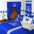 Duke Blue Devils Side Lines Comforter / Sheet Set