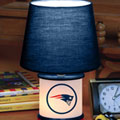 New England Patriots NFL Accent Table Lamp