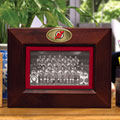 "New Jersey Devils NHL 8"" x 10"" Brown Horizontal Picture Frame"
