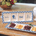 Duke Blue Devils NCAA College Gameday Ceramic Relish Tray