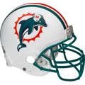 Miami Dolphins Helmet Fathead NFL Wall Graphic