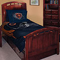 "Chicago Bears NFL Twin Comforter Set 63"" x 86"""