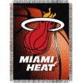 "Miami Heat NBA ""Photo Real"" 48"" x 60"" Tapestry Throw"
