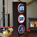 Atlanta Braves MLB Stop Light Table Lamp