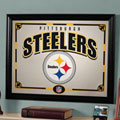 Pittsburgh Steelers NFL Framed Glass Mirror