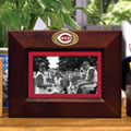 "Cincinnati Reds MLB 8"" x 10"" Brown Horizontal Picture Frame"
