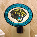 Jacksonville Jaguars NFL Art Glass Nightlight