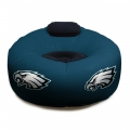Philadelphia Eagles NFL Vinyl Inflatable Chair w/ faux suede cushions
